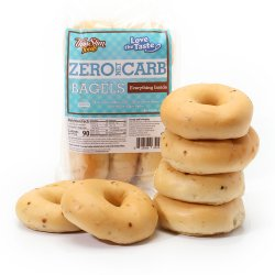 ThinSlim Foods Love-the-Taste Bagels Everything Inside 6 pack