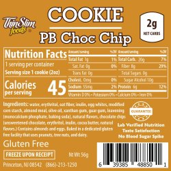 ThinSlim Foods Peanut Butter Chocolate Chip Cookie