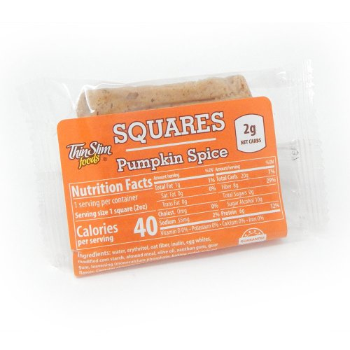 ThinSlim Foods Square Pumpkin Spice