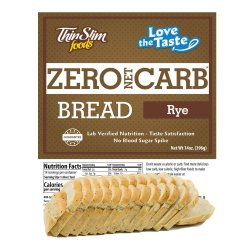 ThinSlim Foods Love-the-Taste Bread Rye