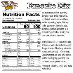 ThinSlim Foods Low Carb Mix Pancake