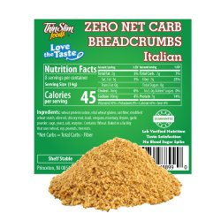 ThinSlim Foods Love-the-Taste Low Carb Breadcrumbs Italian