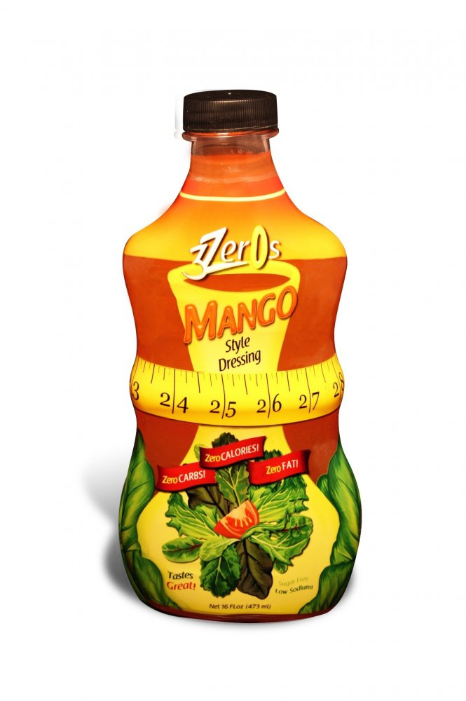 3 Zeros Zero Calorie Dressing Mango - Click Image to Close