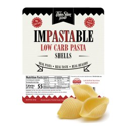 ThinSlim Foods Impastable Low Carb Pasta Shells