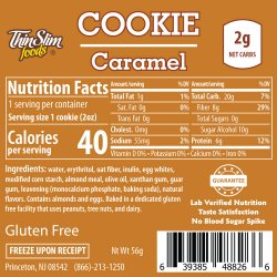 ThinSlim Foods Cookie Caramel