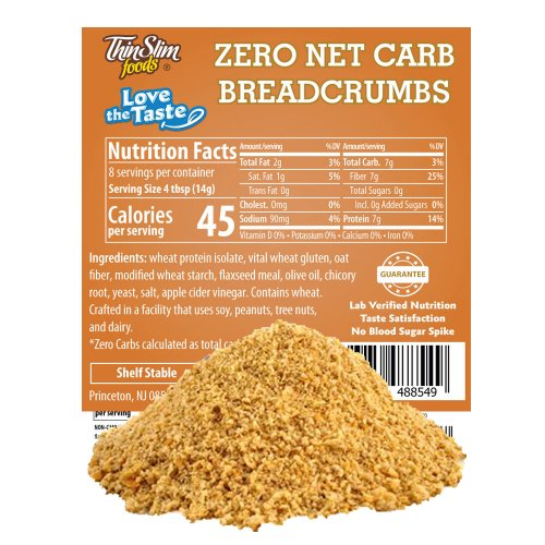 ThinSlim Foods Love-the-Taste Low Carb Breadcrumbs Plain