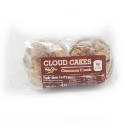 ThinSlim Foods Cloud Cakes Cinnamon Crumb, 2pack