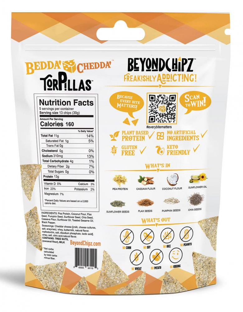 BeyondChipz Torpillas Bedda Chedda - Click Image to Close