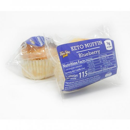 ThinSlim Foods Keto Muffins Blueberry
