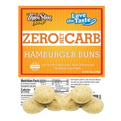 ThinSlim Foods Love-the-Taste Hamburger Buns