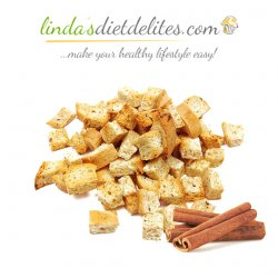 Lindas Diet Delites Low Carb Cinnamon Toast Bites