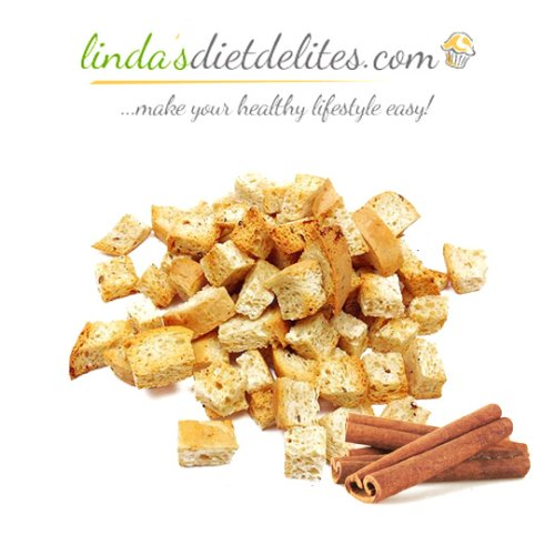 Lindas Diet Delites Low Carb Croutons Cinnamon