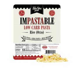 ThinSlim Foods Impastable Low Carb Pasta Rice (Orzo)