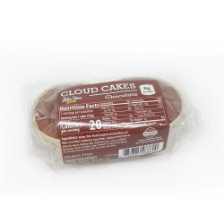 ThinSlim Foods Cloud Cakes Chocolate, 2pack