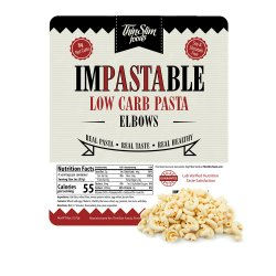 ThinSlim Foods Impastable Low Carb Pasta Elbows