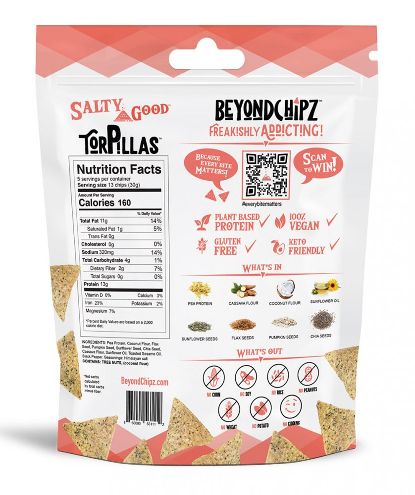 BeyondChipz Torpillas Salty Good - Click Image to Close