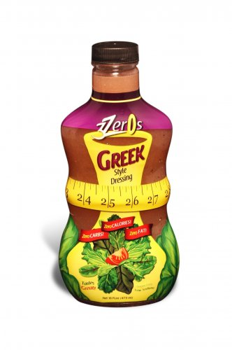 3 Zeros Zero Calorie Dressing Greek