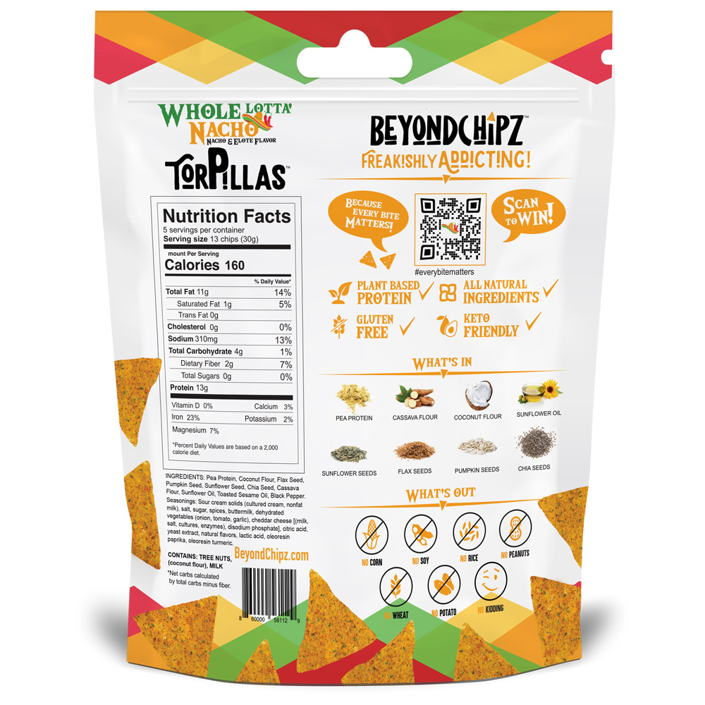 BeyondChipz Torpillas Whole Lotta Nacho - Click Image to Close