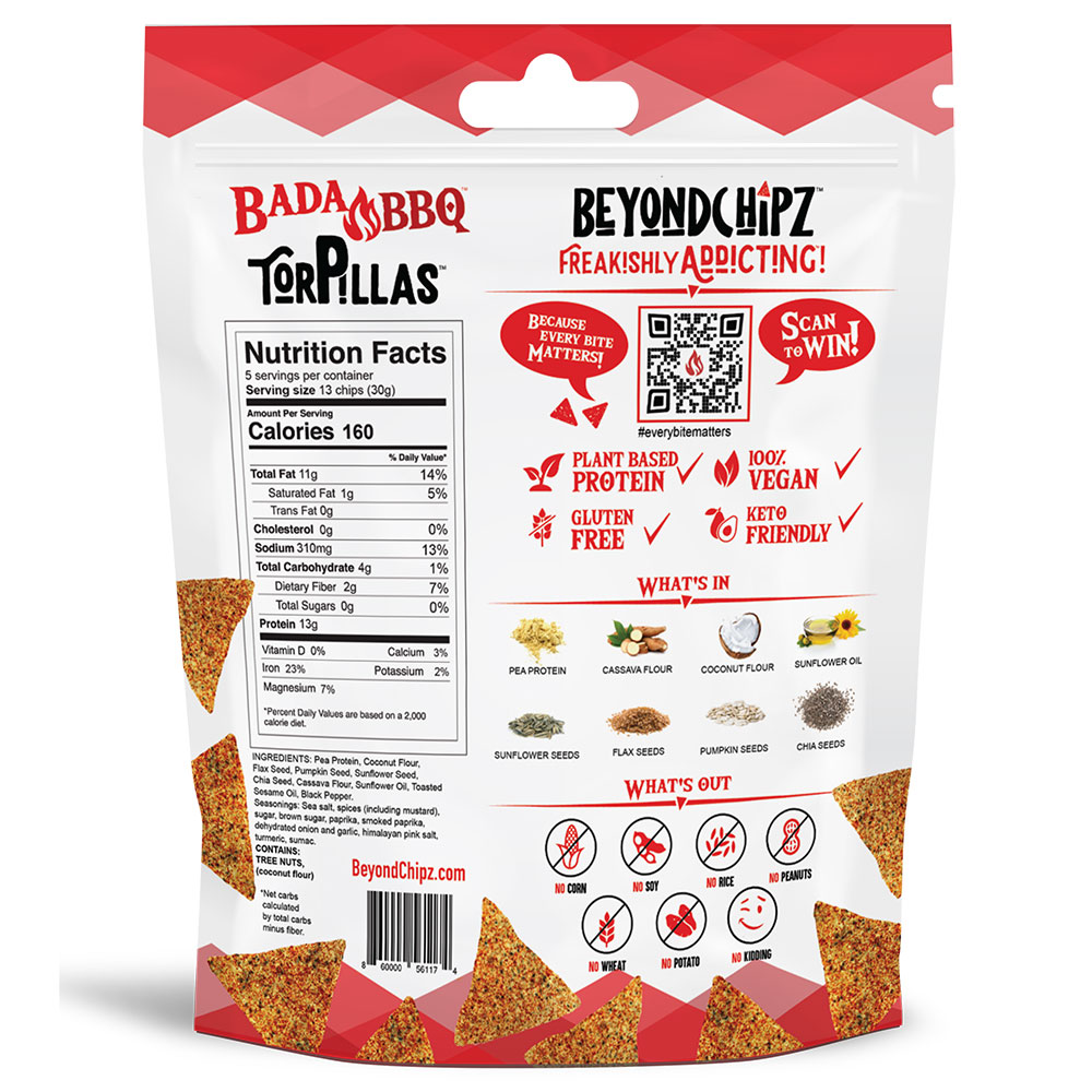 BeyondChipz Torpillas Bada BBQ - Click Image to Close