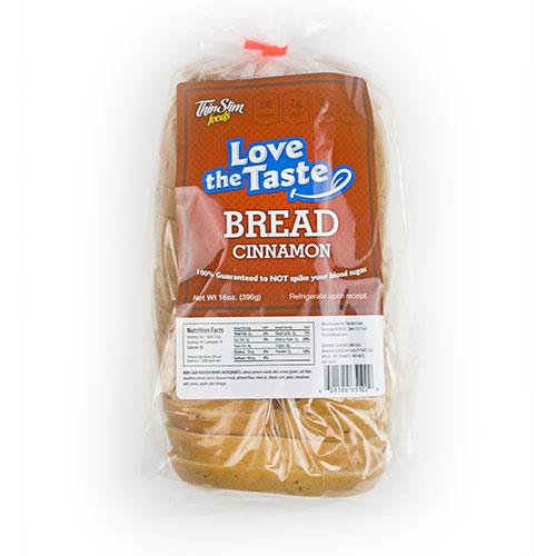 ThinSlim Foods Love-the-Taste Bread Cinnamon