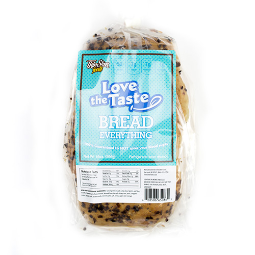 ThinSlim Foods Love-the-Taste Bread Everything