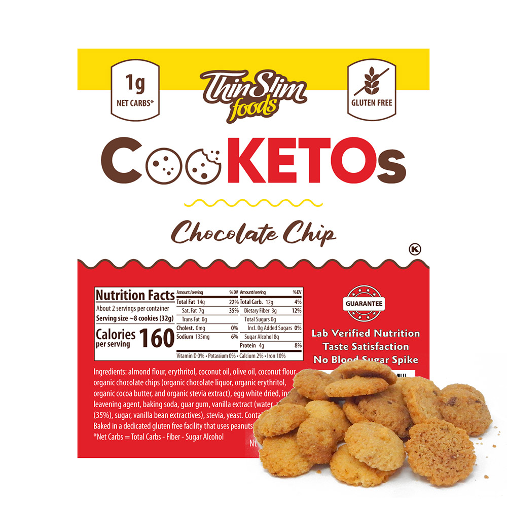 ThinSlim Foods CooKETOs Chocolate Chip