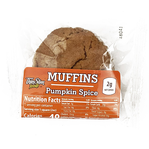 ThinSlim Foods Muffins Pumpkin Spice - Click Image to Close