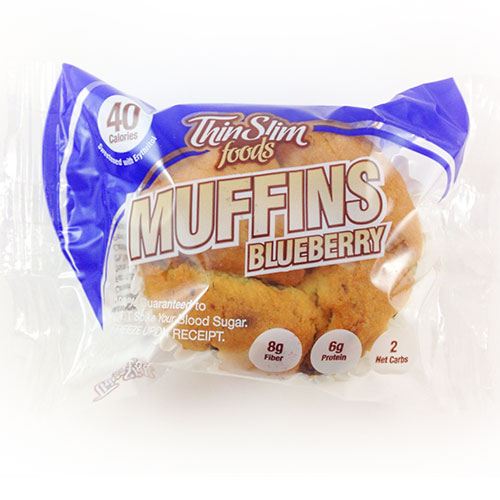 ThinSlim Foods Muffins Blueberry - Click Image to Close