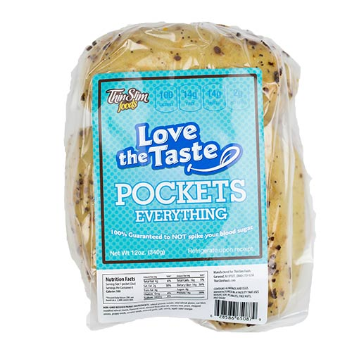 ThinSlim Foods Love-the-Taste Pockets Everything