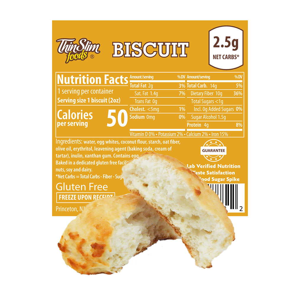 ThinSlim Foods Biscuit - Click Image to Close