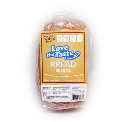 ThinSlim Foods Love-the-Taste Bread Sesame