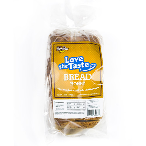 ThinSlim Foods Love-the-Taste Bread Honey