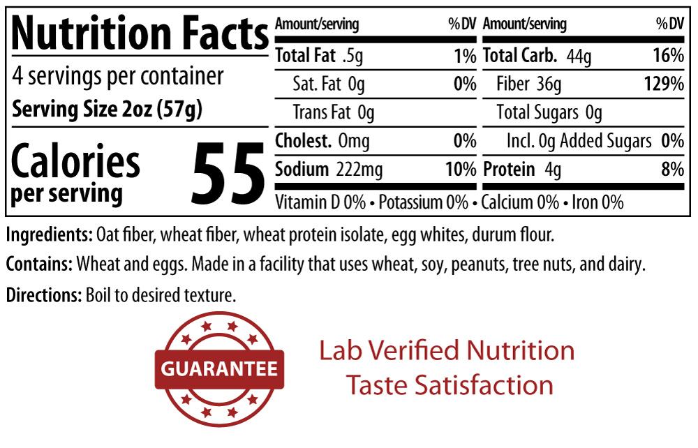 ThinSlim Foods Impastable Low Carb Pasta - Shells