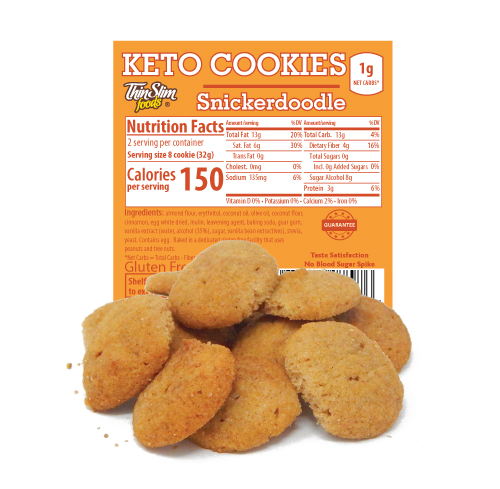ThinSlim Foods Keto Cookies Snickerdoodle