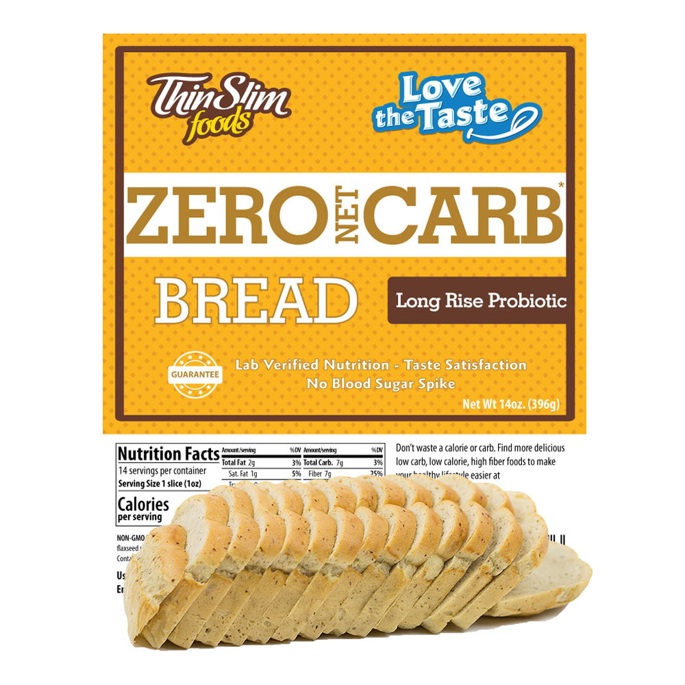 ThinSlim Foods Love-the-Taste Bread Long Rise Probiotic - Click Image to Close