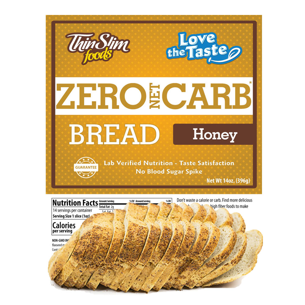 ThinSlim Foods Love-the-Taste Bread Honey - Click Image to Close