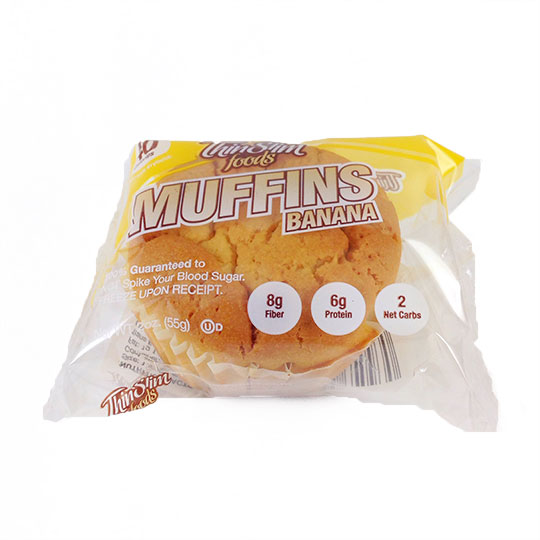 ThinSlim Foods Muffins Banana - Click Image to Close