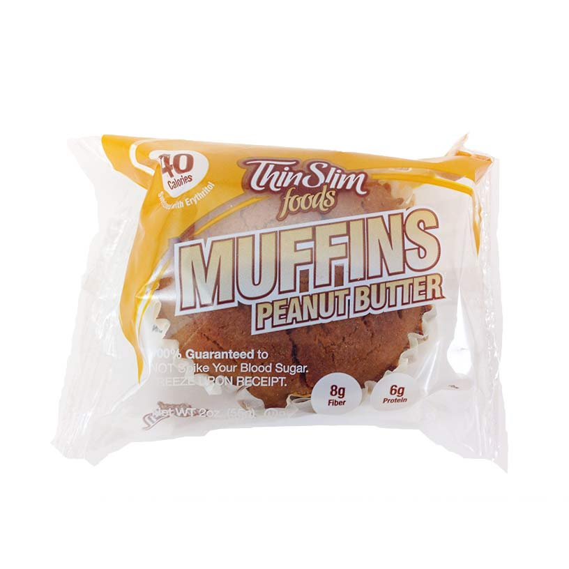 ThinSlim Foods Muffins Peanut Butter