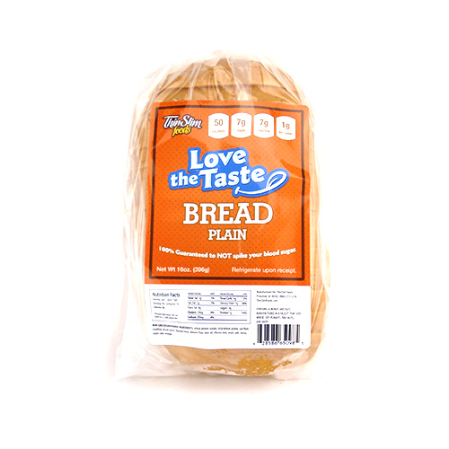 ThinSlim Foods Love-the-Taste Bread Plain - Click Image to Close