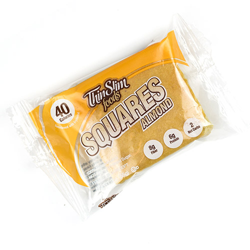 ThinSlim Foods Almond Square - Click Image to Close
